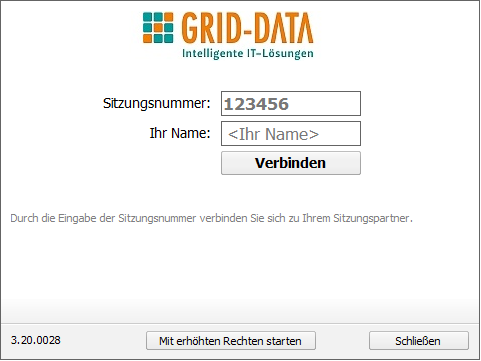 GRID-DATA Supportprogramm